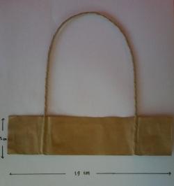 tali kertas dengan handle